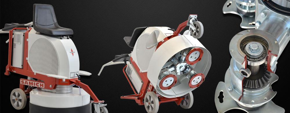 Floor Grinding Polishing Machines Slide 01
