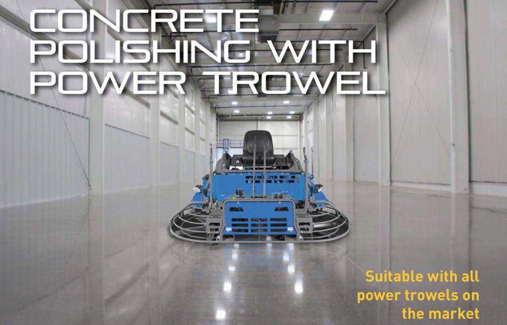 hypergrinder power trowel system